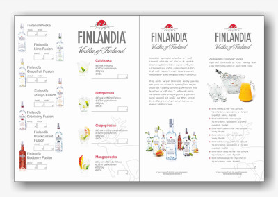 Kataloger Vodka Finlandia